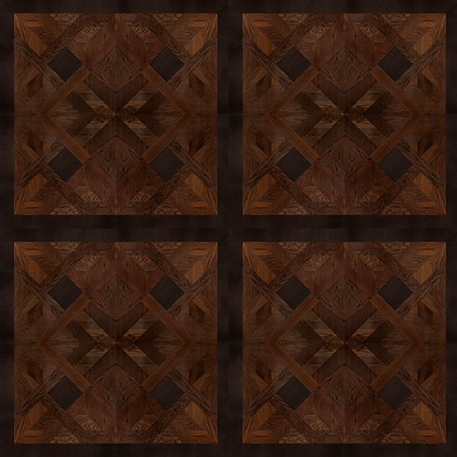 Frederiksborg Parquet Dark Oak Leather